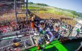 Foto: MotoGP Itālijā - 100 tūkstoši fanu, Rosi neveiksme un fotofinišs