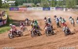 Foto: Gulbenē aizvadīts Latvijas kauss motokrosā