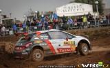 Foto: Spānijā aizvadīts vienīgais jauktā seguma WRC posms sezonā