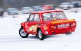 Foto: Gvido Elkšņa rīkotais ziemas drifts Baldonē