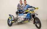 Foto: Kurpnieka blakusvāģu ekipāža prezentē jaunās krāsas