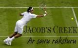 """Konkurss: """"Jacob's Creek"""" Vimbldonas spēle"""