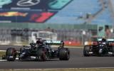 """Botass """"Mercedes"""" cīņā apsteidz Hamiltonu, 3. starta pozīciju izcīna Hilkenbergs"""