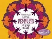Video: Pirmo reizi Latvijā- Ikšķilē notiks grandiozs operetes festivāls