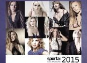 Latvijas skaistākās sportistes tavās mājās visu gadu
