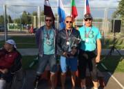 Latvijas sēdvolejbola izlase triumfē starptautiskā turnīrā Līvānos