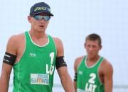 Pļaviņš un Regža uzsāks jauno pludmales volejbola sezonu