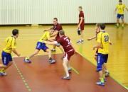 """Vaiņode pārspēj """"Latgolu"""", Jēkabpils handbolistēm pirmā uzvara"""