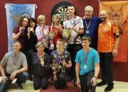 Razma un Seimane uzvar šautriņu mešanas Latvijas čempionātā