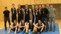 """Kronēti Studentu Basketola līgas čempioni - BA """"Turība"""""""