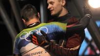 Foto: Brāļi Dukuri olimpiskajā četriniekā