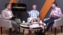 Futbolbumbas: Ronaldu Rīgā jāsit pa kātiem, Valters netic Latvijas futbolam
