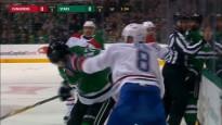 Brāļi satiekas NHL laukumā un sarīko nekārtības
