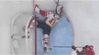 """NHL atvairījumu topā uzvar """"Flames"""" vārtsargs"""