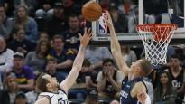 Porziņģis ar bloku ielaužas NBA labākajos momentos