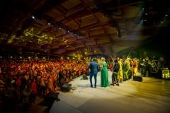 """Foto: Jelgavā izskanējis vērienīgais koncerts """"Mana vasaras melodija"""""""