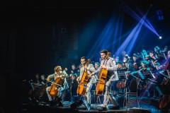 Foto: Melo-M Mega orķestra Vecgada lielkoncerti fotomirkļos