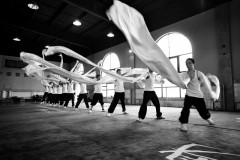 Foto: No skarbiem treniņiem Pekinas nomalē līdz skatītāju pārpildītām zālēm