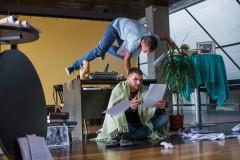 """Video: Radīta neparasta horeogrāfiska dejas izrāde """"Kad romāns skan"""""""