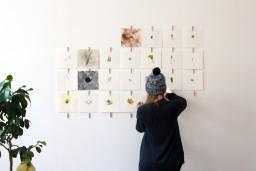 """Kristīnes Graudules – Putnieces izstāde """"Zīmēšanas maratons - 366 dienas"""""""