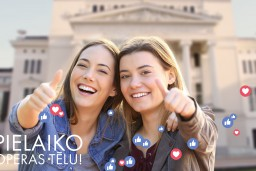 """Pielaiko operas tēlu! Latvijas Nacionālā opera un balets aicina jauniešus piedalīties ikgadējā konkursā """"Ceļojums uz operu"""""""