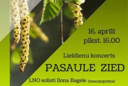 """Ilona Bagele un Raimonds Bramanis  Lieldienu koncertā """"Pasaule zied"""""""