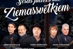 """Grupa SESTĀ JŪDZE koncertprogrammā """"Sešas jūdzes līdz Ziemassvētkiem"""" Latvijas dievnamos, pilīs un būdiņās"""
