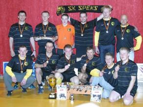 Sestdien startēs Valmieras telpu futbola čempionāts