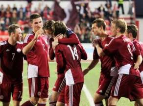 Latvija saņemas un 2. puslaikā sagrauj Gibraltāru