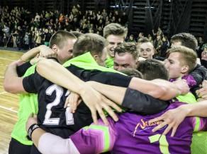 Valmierieši kļūst par 1.līgas čempioniem