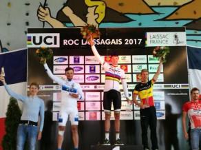 """""""Rietumu banka – Rīga"""" riteņbraucējs Prūss otrais prestižā MTB maratonā Francijā"""