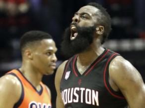 """Hārdens sakauj Vestbruku, """"Celtics"""" sāk ar zaudējumu savā laukumā"""