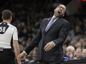 """""""Grizzlies"""" treneris asi kritizē tiesnešus: """"Neļaušu viņiem tā pret mums izturēties!"""""""