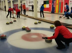 SK OB/Regža un RKK/Rudzītis iekļūst Latvijas jaukto komandu kērlinga čempionāta finālturnīrā