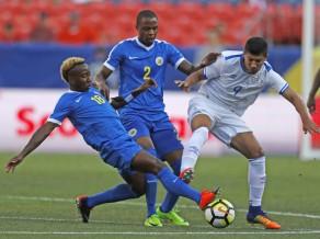 Salvadora uzvaru nokārto četrās minūtēs, Meksika un Jamaika cīnās neizšķirti