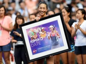 46 gadus vecā Date Tokijā atvadās no profesionālā tenisa
