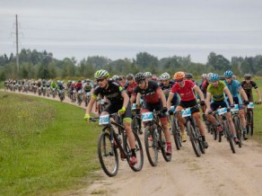 Vadošo kalnu riteņbraucēju cīņas SEB MTB Mārupes posmā tiešraidē Sportacentrs.com