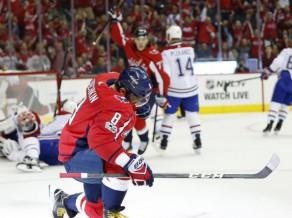 Ovečkins turpina bombardēt, Austrālijas uzbrucējam vārti vēsturiskā NHL debijā