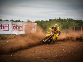 Latvijas Nacionālā Reģionu kausa motokrosā finālā uz starta arī Līvs un Freibergs