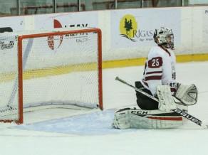 Latvijas U17 hokeja izlase divreiz uzvar Baltkrievijas vienaudžus