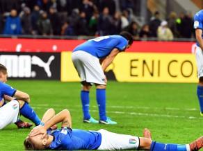 Itālija pirmo reizi kopš 1958. gada paliek ārpus Pasaules kausa