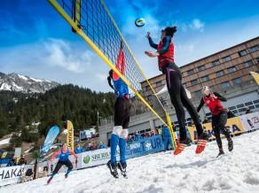 Latvijā pirmo reizi notiks sniega volejbola čempionāts