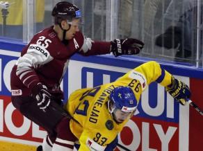 Tiešraide: Zviedrija - Latvija 3:2 (spēle galā)