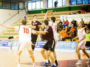 U-20 handbolistiem uzvara pārbaudes spēlē pret Igauniju