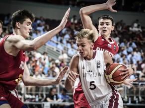Žagars piektais rezultatīvākais turnīrā, statistikā dominē čempioni serbi