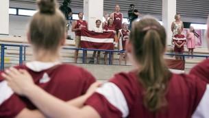Video: Tiešraide: EČ U16 meitenes plkst.22:00: Latvija - Portugāle (12.08.2016, spēle par 9.-16.vietu)