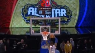Video: NBA Zvaigžņu spēles momentu topā uzvar Lebrons Džeimss