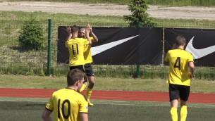 """Video: Askerovam hat-trick, """"Progress/AFA Olaine"""" viesos pārspēj """"Smilteni/BJSS"""""""