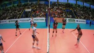 Latvijas sieviešu volejbola izlase trijos setos piekāpjas bosnietēm