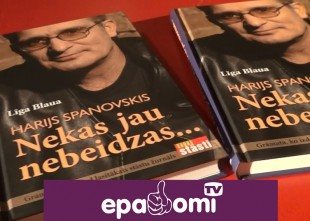 Video: Emocionāli atklāj grāmatu par Hariju Spanovski